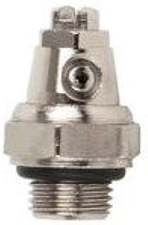 Purgador orientable manual de radiador rosca 1/8