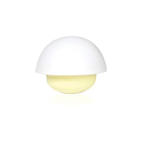 Filibabba LED Nachtlicht | Wechselt Farbe bei Berührung | Viele tolle Farben | Kabellose Nachtleuchte | Dänisches Design | Wiederaufladbar | Pilz