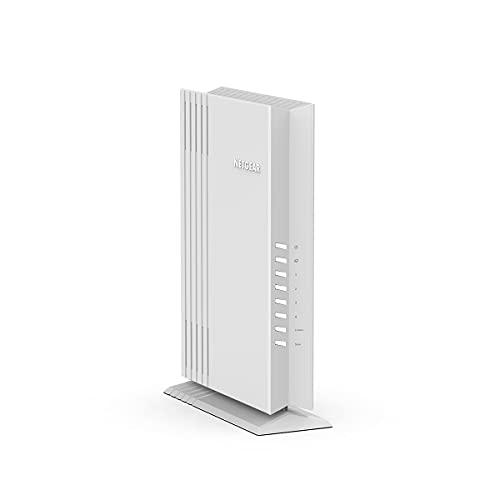 Netgear WAX206 - Punto de Acceso WiFi 6 de sobremesa Dual Band AX3600 (4 puertos Ethernet 1G, 1 x 2.5G WAN, Hasta 128 dispositivos, seguridad WPA3, hasta 3 redes WiFi distintas, MU-MIMO, 802.11 AX)