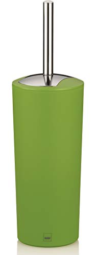 Kela 22231 WC-Bürste und Behälter, 36,5 cm Höhe, Kunststoff, Matt, WC-Garnitur, Marta, Grün