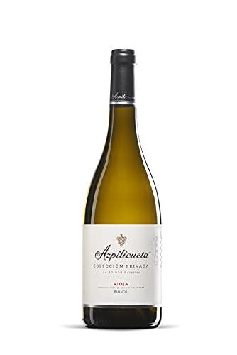 Azpilicueta Colección Privada Blanco Caja de madera Premium 3 botellas D.O.Ca Rioja Vino - 750 ml