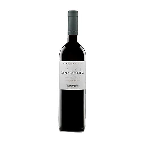 Vino Tinto Lopez Cristobal Reserva de 75 cl - D.O. Ribera del Duero - Bodegas Lopez Cristobal (Pack de 1 botella)
