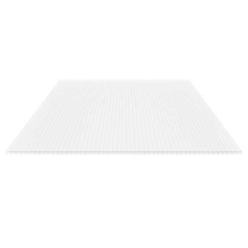 Stegplatte | Hohlkammerplatte | Stegdreifachplatte | Material Polycarbonat | Breite 1200 mm | Stärke 16 mm | Farbe Opal Weiß