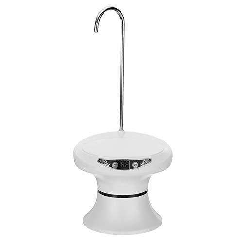 XIMULIZI Drahtlose tragbare elektrische automatische Wasserpumpe Elektrisch Wasser-Zufuhr, automatische Tray Mineral Water Dispenser,Weiß