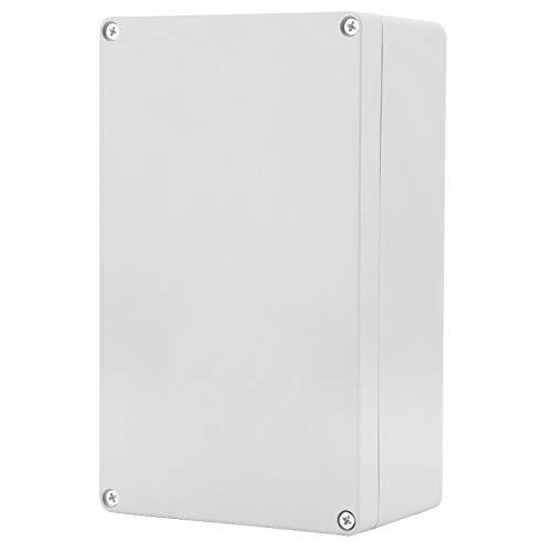 Anschlussdose, IP65 ABS Wasserdichtes Instrumentenkoffer für Elektrische Projektboxen für Innen und Außenelektrik, Kommunikation, Feuerlöschgeräte (200 * 120 * 75mm)