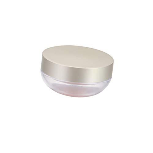 Beaupretty leerer Puderkasten tragbarer Puderkasten Doppelschicht-Make-up-Puderbehälter mit...