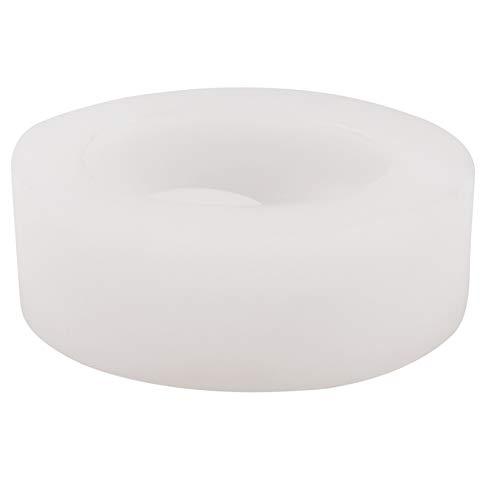 Cobeky Candelabro de silicona adoquines de hormigón, molde hecho a mano de cemento Candelabro Decoración de escritorio