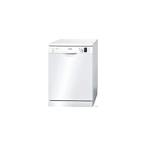 Bosch Serie 2 SMS25AW04E Autonome 12places A+ lave-vaisselle - Lave-vaisselles (Autonome, Blanc, Taille maximum (60 cm), Blanc, boutons, Rotatif, 1,75 m)