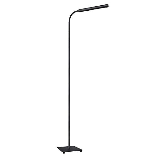AUKEY Schreibtischlampe LED Tischleuchte dimmbar 8W Augenschutz  3 Modi, 5 Helligkeitsstufen, 600lm, Berührungsempfindliche Leselampe mit 270 °  drehbaren Lampenkopf, Schwarz (LT-T9)