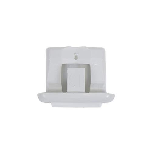 GE WD12X10304 Genuine OEM Rack Slide End Cap (White) for GE Dishwashers