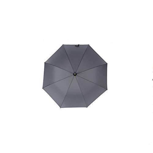 FYMDHB886 paraplu Parasol Lange handvat paraplu Effen kleur 8 bot paraplu Rechte golfparaplu Sunshade volledig automatische zakelijke paraplu, Size, B
