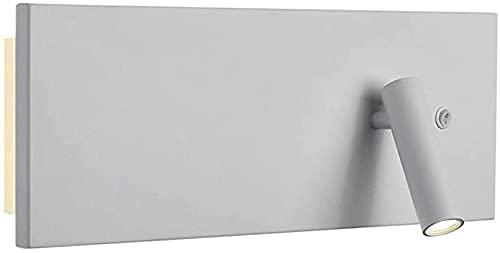 YANJ Lámpara de pared simple y moderna, lámpara de pared LED creativa ajustable para dormitorio, dormitorio, noche, luz de lectura, sala de estar, oficina, hotel, cafetería, bar