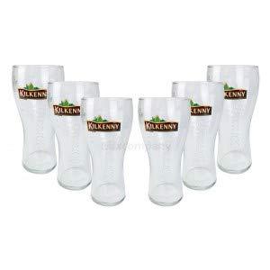 Kilkenny - Juego de Vasos de Cerveza (6 Unidades, 0,5 L)