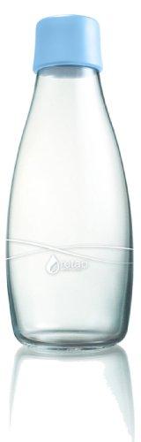 Retap Trinkflasche Wasserflasche, Verschluss hellblau