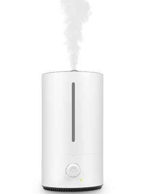 Movaty Ultraschall Luftbefeuchter mit Öl, 4L,ultra leise, Aroma Diffuser, 40h Arbeitszeit, Top-Füllung, Humidifier für Baby und Kinderzimmer, raumbefeuchter schlafzimmer, Büro, Weiß