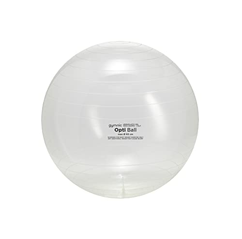 Gymnic 9675 Opti Ball 75, trasparente