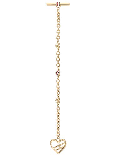 Tommy Hilfiger Fine Core damska bransoletka stal szlachetna 16,5 cm e stal szlachetna, colore: złoto, cod. 2780112