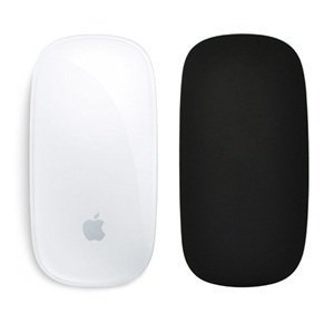 Cosmos Silicone Soft Skin Protector Cover for MAC Apple Magic Mouse (Black)