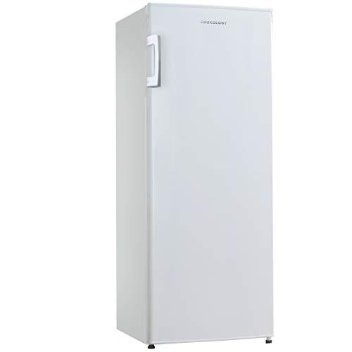 Cookology CTFR235WH Tall Freestanding Larder Fridge in white | 55x142cm, Metal Back