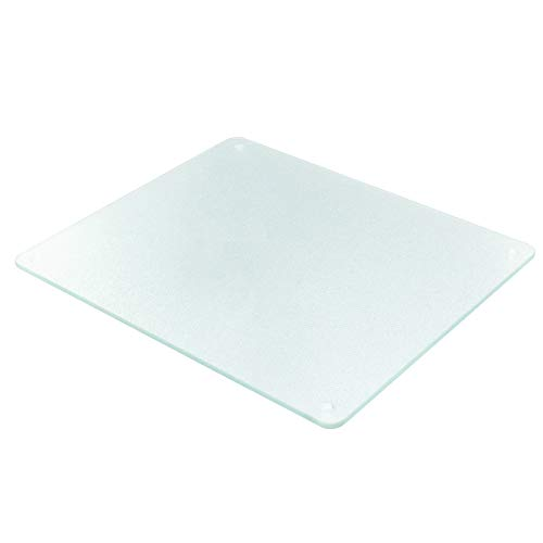 Vance Clear Surface Saver Cutting Board | Best Kitchen Chopping Board for Food Prep | 10 x 12 inch | BPA-Free | Non-Porous | Dishwasher Safe