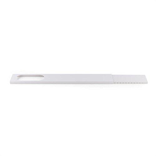 KLARSTEIN Window White Edition - Kit de Ventana para Aire Acondicionado portátil, Extensible Entre 67-131 cm, Instalación en Vertical y Horizontal, Cubierta de PVC, Blanco