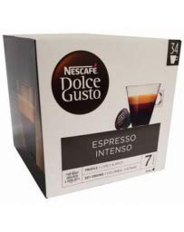 Nescafé Dolce Gusto Kaffeekapseln, Espresso Intenso 34 Stück 340 g