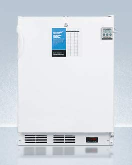 Accucold VT65MLPLUS2ADA 24 in. Wide ADA Height -25 deg C Manual Defrost All Freezer with Lock & Thermometer