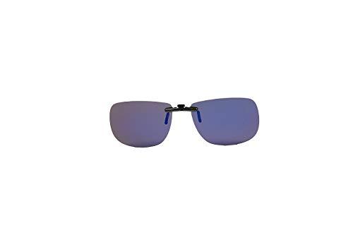 Eyelevel Sunglasses Clip ON Slide Gafas de Sol, Adultos Unisex, G.Blue (Azul), Talla Única