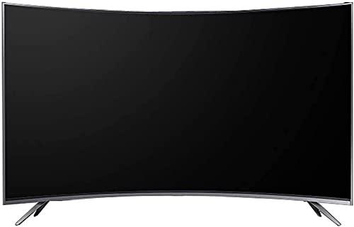 QDY Smart TV de 42 polegadas com resolução WiFi 1920 * 1080, Tela de brilho 450cd / ㎡, Tela LCD Curva, Interface USB 2.0, TV A +