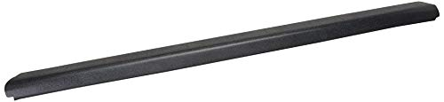 Wade 72-01168 Truck Bed Tailgate Cap Black Smooth Finish for 2007-2014 Silverado & Sierra 1500 2500HD 3500 (Non Stepside bed only)