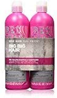 BED HEAD by TIGI Fully Loaded Tween Duo Volume Shampoo & Conditioning Jelly For Fine, Flat Hair 2X750 Ml