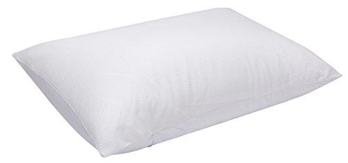 Pikolin Home - Almohada de fibra de firmeza media con tejido termorregulador transpirable para dormir boca arriba y de lado