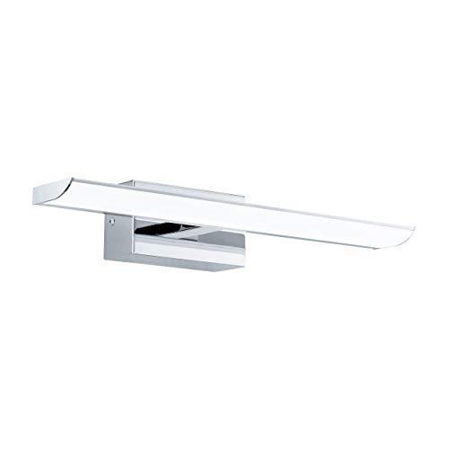 EGLO TABIANO Spiegelleuchte, Stahl, Integriert, 6.4 W, Länge 40,5 cm, chrom