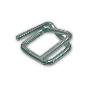 Metallklemmen/Metallschnallen/Klemmen für Umreifungsband/Textilumreifungsband/Verpackungsband, 13 mm 1000
