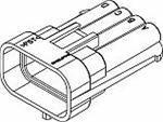 Automotive Connectors 8P MALE BLACK 150 SERIES 14 50 supreme OFFicial shop piece AMPS
