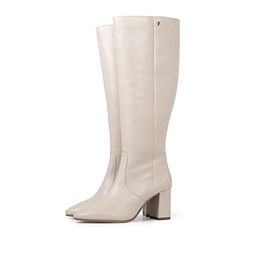Botas altas blancas de tacón alto para mujer LEMGO