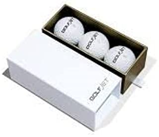 GolfJet JET4 Sleeve   3 x Premium JET4 Golf Balls. 4-Layer Twin Power Core, Ultrasoft 338 Dimple Hex Aero Urethane Cover. Longer Drives, More Game Spin, Optimum Feel for Ultimate Control.