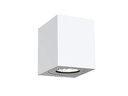 Applique LED extérieure Nordlux Canto Kubi 77521001 LED intégrée blanc