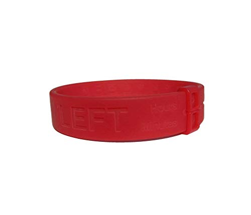 Milk Bands Breastfeeding Reminder Bracelet (Red)