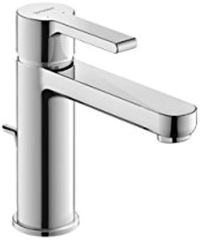 Duravit B21020001 Waschtischarmatur   Waschtischmischer B.2 , Gre M     Armatur mit Keramik Kartusche, Ablauf und flexiblen Anschlüssen     Ausladung  139 mm, Betriebsdruck  3 - 5 bar, Chrom