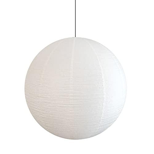 Tbaobei-Baby Pantalla de lámpara hecha a mano, de papel redondo, estilo nórdico, decorativa, para lámpara de araña, lámpara de techo