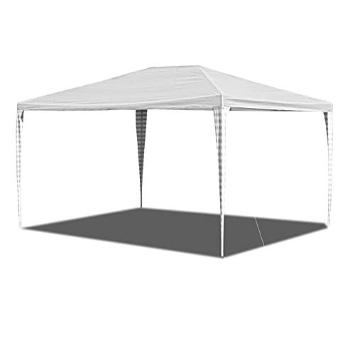 EINFEBEN Pavillon 3x4m UV-Schutz Partyzelt für Garten Terrasse Markt Camping Festival als Unterstand Gartenpavillon hochwertiges Zelt