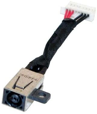 WEIMEI FENG Cable de carga de CA CC en conector de alimentación para portátil Dell Inspiron 13 5368 13 5378 13 5379 13 7368 13 7375 13 7378 P69G 2 en 1