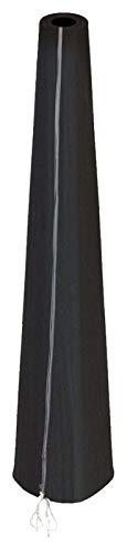 HBCOLLECTION Housse Noire pour Parasol déporté 216cm Gamme Confort