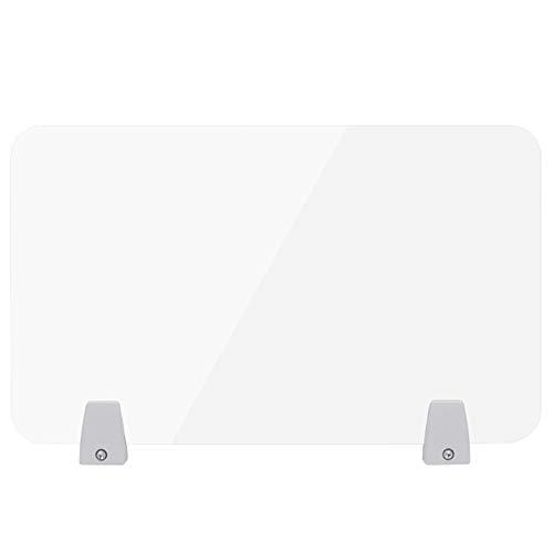 Hustenschutz Niesschutz zum Abhängen für Theken, Tische, Apotheken, Praxen, Tankstellen, Schulen,Spuckschutz Plexiglas,Glasklar Plexiglasscheibe/A / 30×40