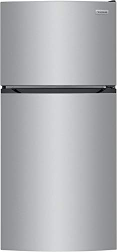 Frigidaire FFHT1425VV 28 Inch Freestanding Top Freezer Refrigerator (Brushed Steel)