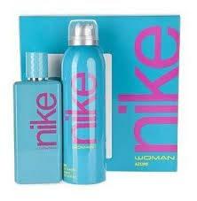 NIKE woman Azure EDT 100 ml + Deo spray 200 ml