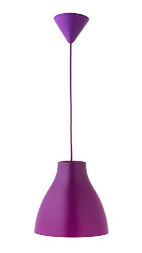 Els Banys Pop - Colgante de techo PVC con cable de color a juego, color morado