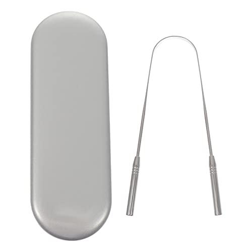 DOITOOL Tongschraper met reiskoffer mondverzorging tongschrapers hygiëne ontdoen van en slechte adem voor volwassenen en…