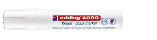 edding Kreidemarker edding 4090, 4-15 mm, weiß